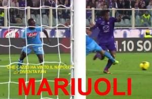 Fiorentina errori arbitrali