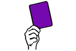 Cartellino-viola